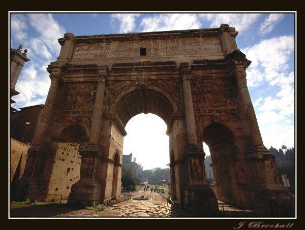 Arco Di Settimo Severo by justbrock