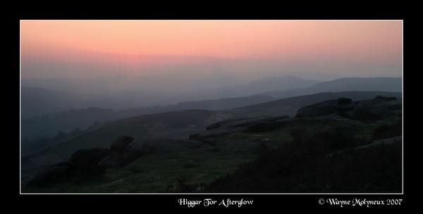 Sundown at Higgar Tor by waymol
