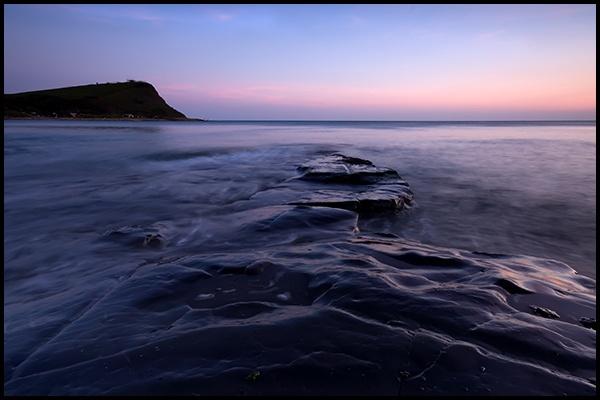 Kimmeridge Bay - Rock Ledge. by How1e
