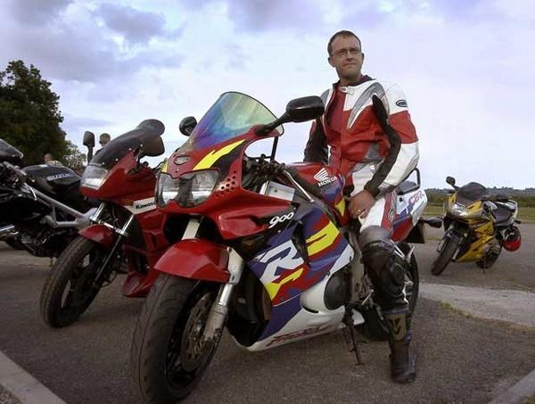 Wayne the Biker by Humph