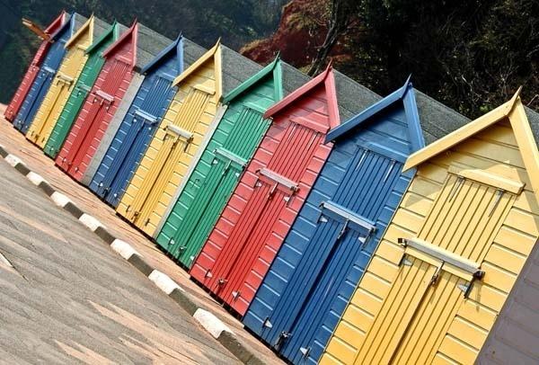 Bathing Huts 2 by RosePhoto
