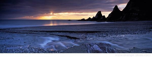 Westcombe Beach by davidentrican