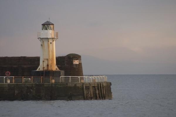 Saltcoats lighthouse by hudster
