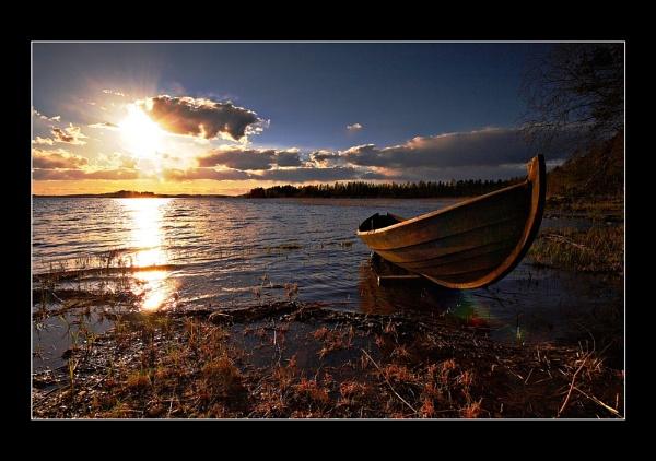 SUNSET BOAT... by Jou©o