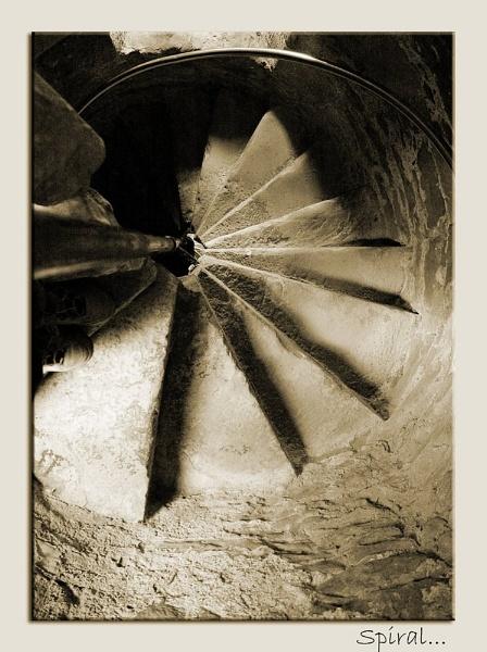 Spiral... by RoddBC