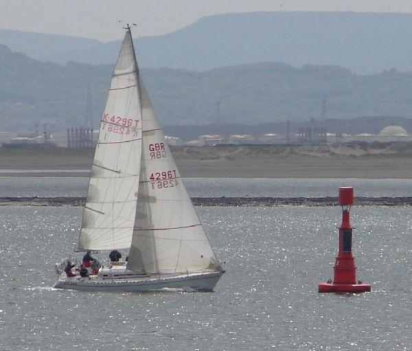Sailing by tenerifejohn