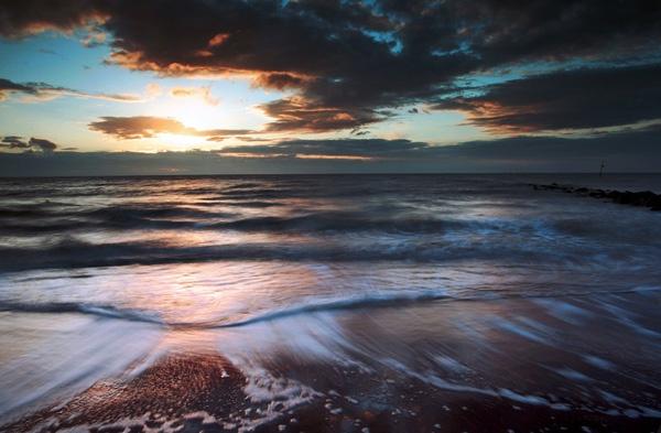 silky sea by akahmed