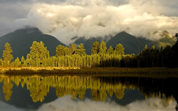 Lake Matheson Reflections (2) by u47sb2