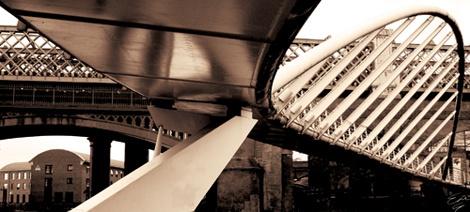 Castlefield Bridge by emmag