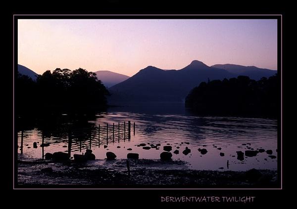 Derwentwater Twilight by limmy62