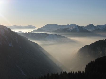 Misty Mountains by cphubert
