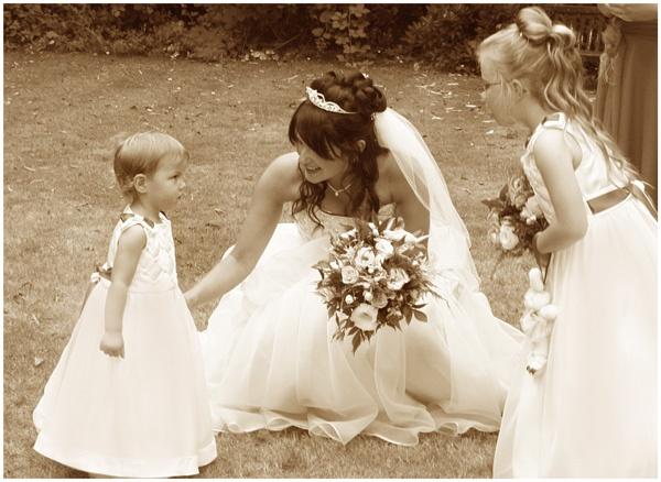 Wedding moment by JennB