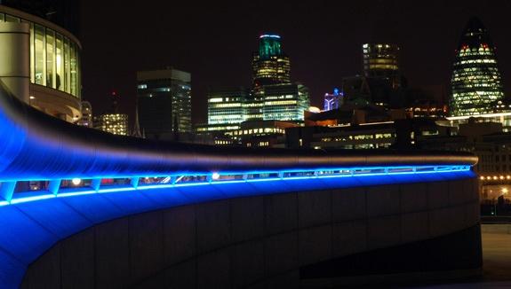 Blue Curve by Stuart61