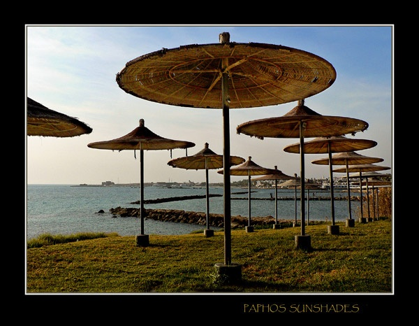 Paphos Sunshades by MaggyLymn