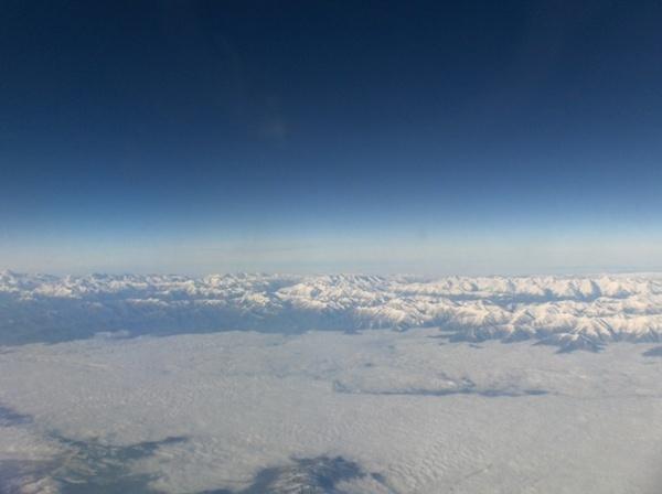 Hindu Kush Mountains Above Kabul by jayuubee