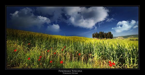 Panorama Toscana by rusmi