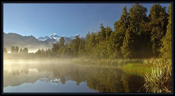 Lake Matheson and Mount Cook (2) by u47sb2
