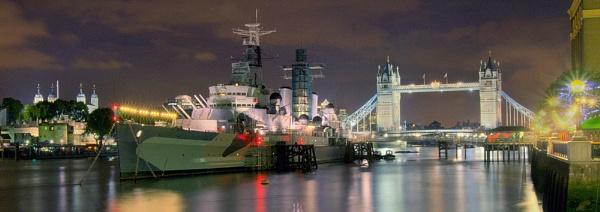 HMS Belfast by EeeZeeLee