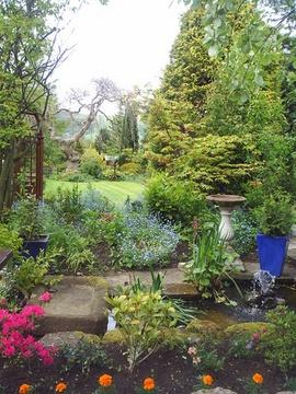 An English Country Garden by riffusraffus