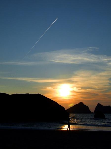 Cornish Sunset by TonyLD