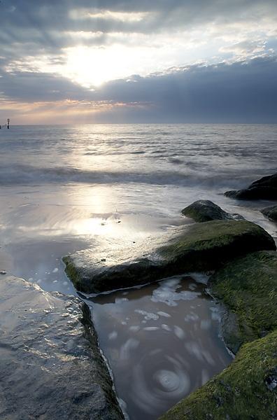 Dawn, Southwold beach by pikey
