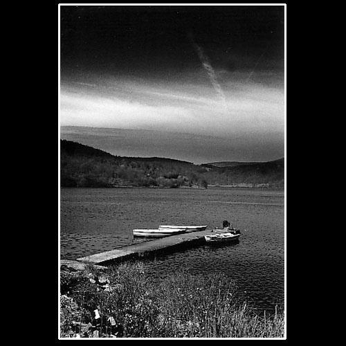 Boats At Ladybower by dynexclick