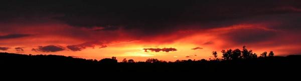 Homeward bound sunset by Gazzten