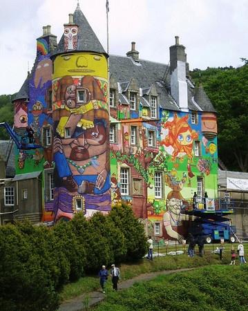 Kelburn Castle by Caledonia