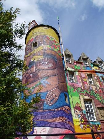 Kelburn tower by Caledonia