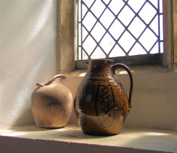 On the church window sill by Philipo
