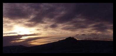 Over Dartmoor by MikeEG