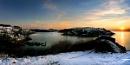 Winter Sunrise Panorama
