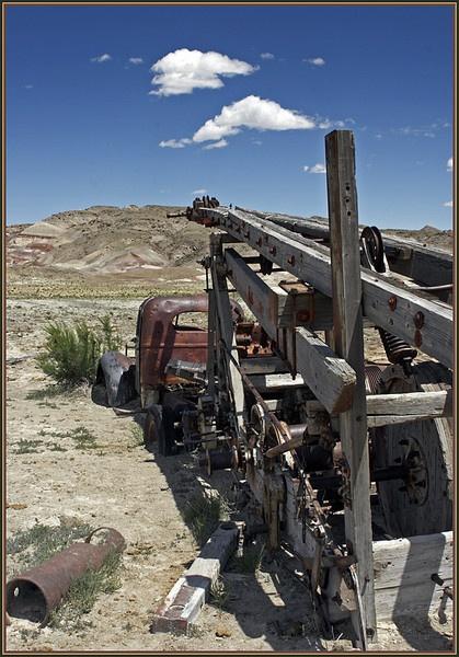 Dead Farm#3-Heath Robinson by davidbailie