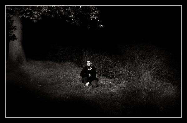 By the midnight lake by funkeldink