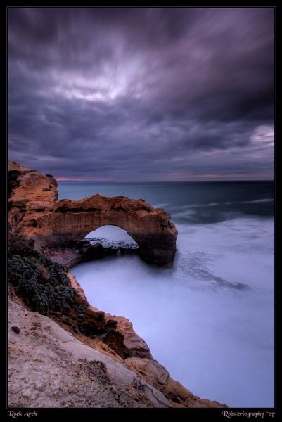 Rock Arch Rock by Robsterios