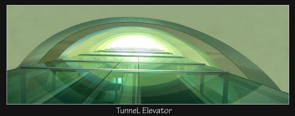 Elevator Tunnel by Rune_andersen