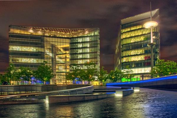 Luminous Building by EeeZeeLee