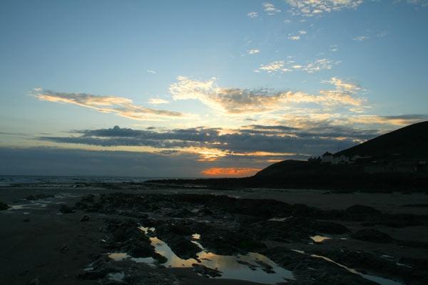 Sundown over Croyde by brianus