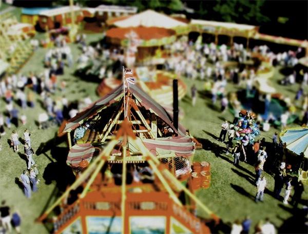 Toy Fairground by redbulluk