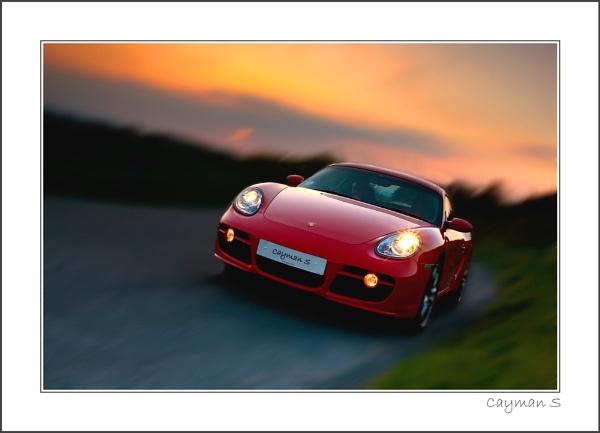 Red Porsche by stevie