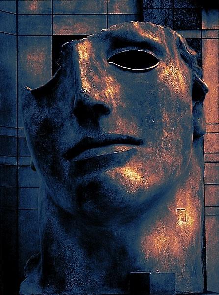 Sculptured Head by Topcat