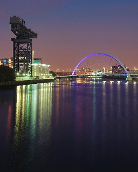 Glasgow at night by millaross
