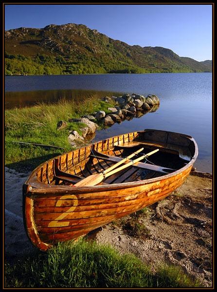 Loch Ruthven Boat by u47sb2