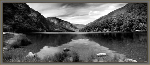 Glendalough mono pano by Ganto