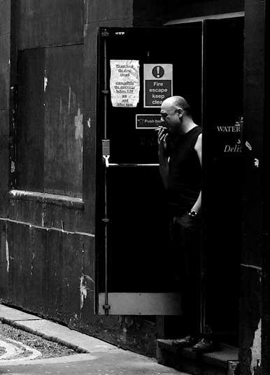 In the door way by RupertHitchcoxLRPS