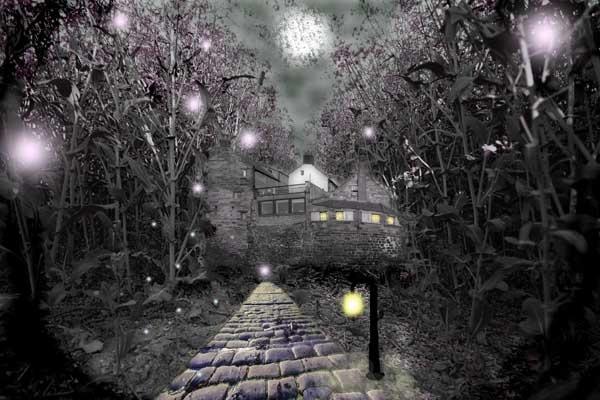 The Fairies Castle by Abaeron