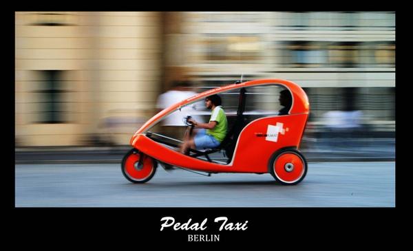 Pedal Taxi by monoman