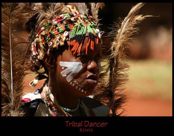 Tribal Dancer by monoman