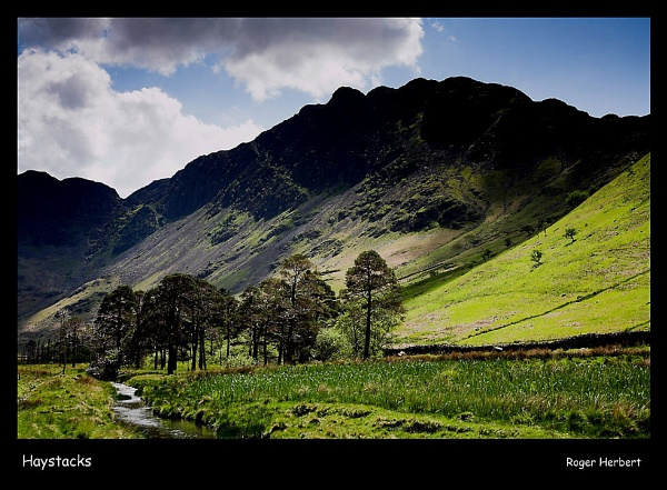 Haystacks by RogH