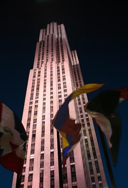 Rockefeller Center Building by themoabird